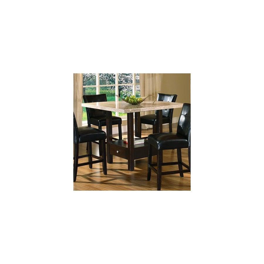 Steve Silver Company Monarch Black Square Dining Table