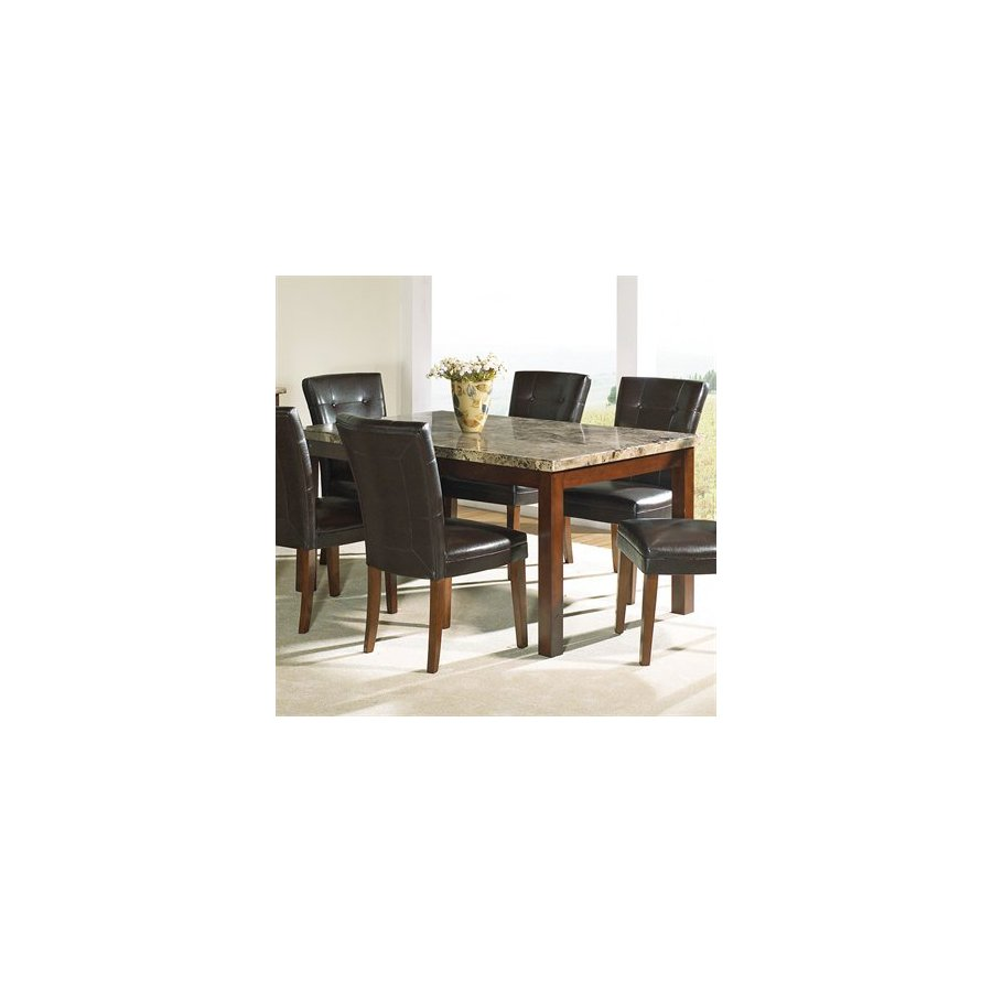 Steve Silver Company Montibello Cherry Rectangular Dining Table