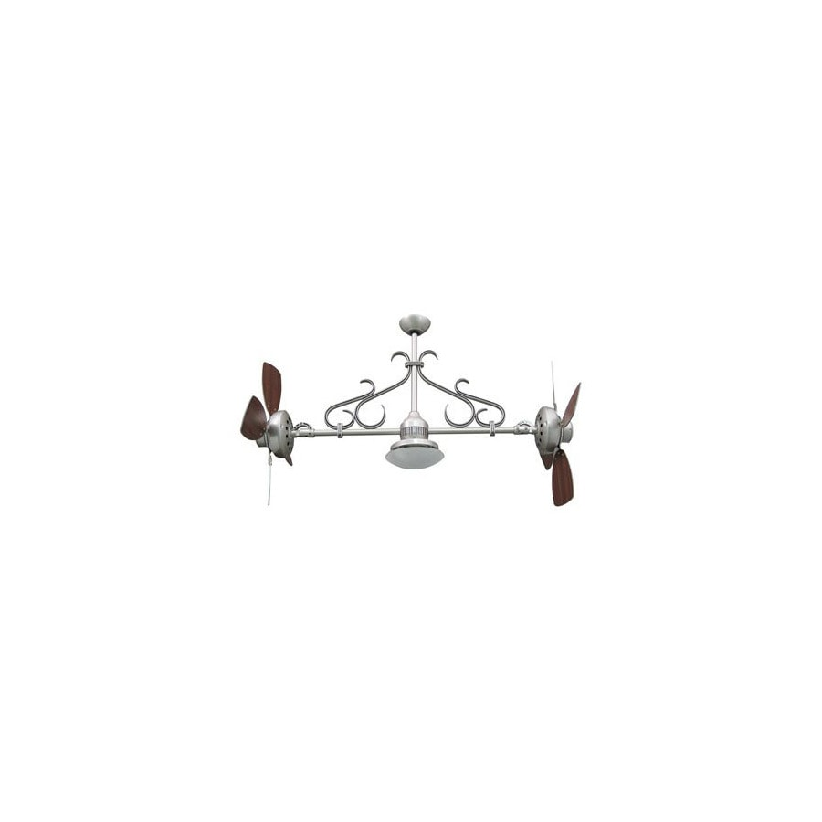 Yosemite Home Decor 26-in Typhoon Antique Pewter Ceiling Fan with Light Kit and Remote