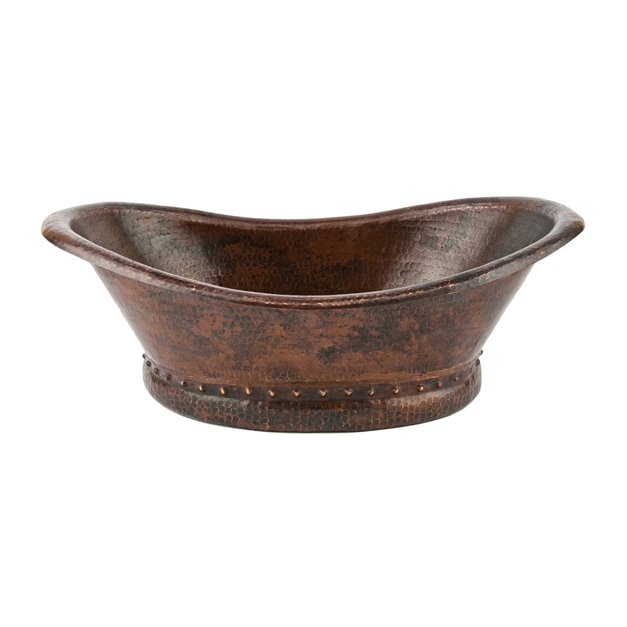 Bronze Vessel Sink : ... Copper Products Oil-Rubbed Bronze Copper Vessel Oval Bathroom Sink