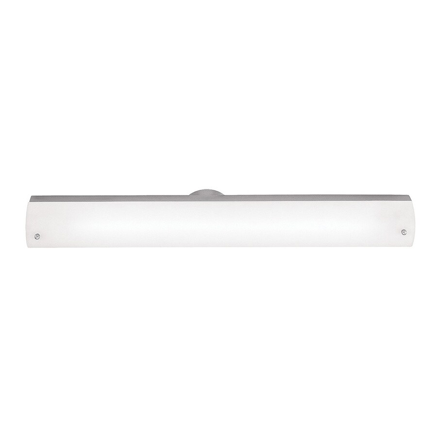 Access Lighting Vail W 1-Light Brushed Steel Pocket Hardwired Wall Sconce