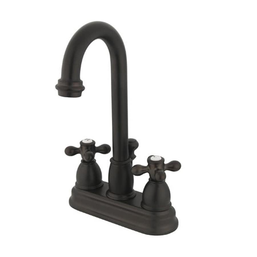 Shop Elements Of Design Chicago Oil Rubbed Bronze 2 Handle 4 In Centerset Bat