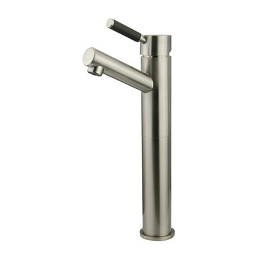 Elements of Design Kaiser Satin Nickel 1-Handle Single Hole Bathroom Faucet