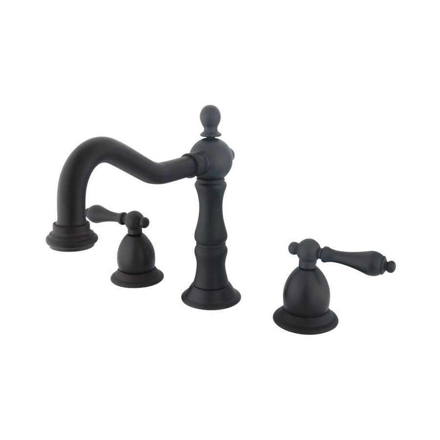 Elements of Design Oil-Rubbed Bronze 2-Handle Widespread Bathroom Faucet