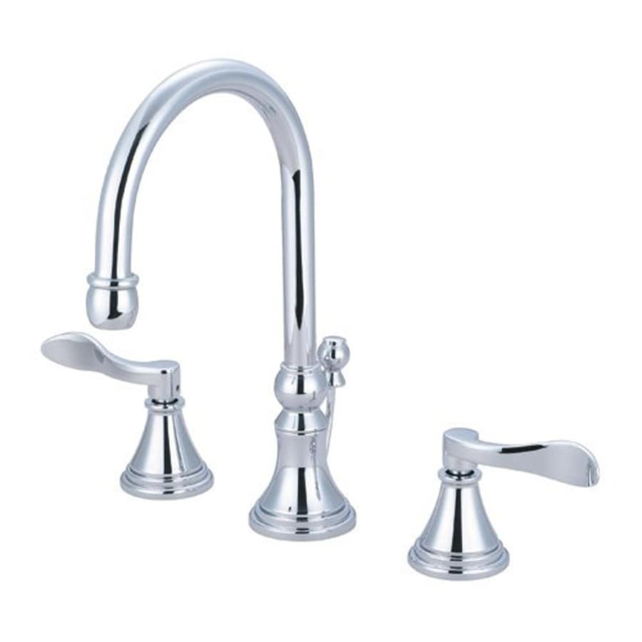 Elements of Design Nufrench Chrome 2-Handle Widespread Bathroom Faucet (Drain Included)
