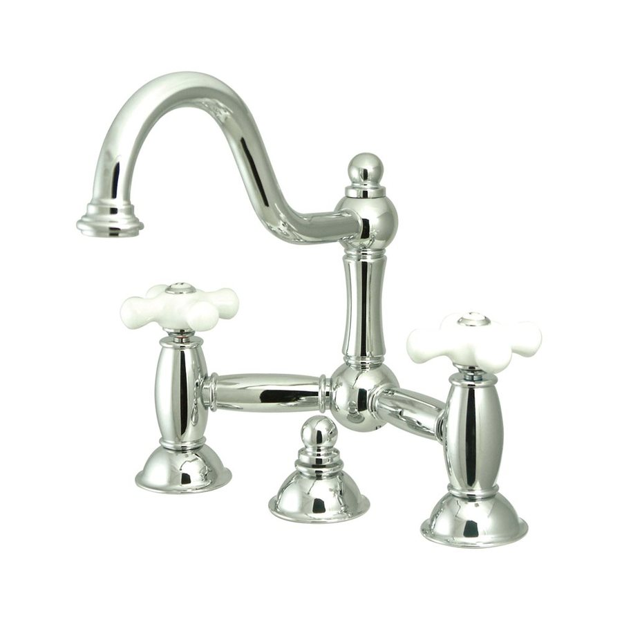 Elements of Design Chicago Chrome 2-Handle Widespread Bathroom Faucet