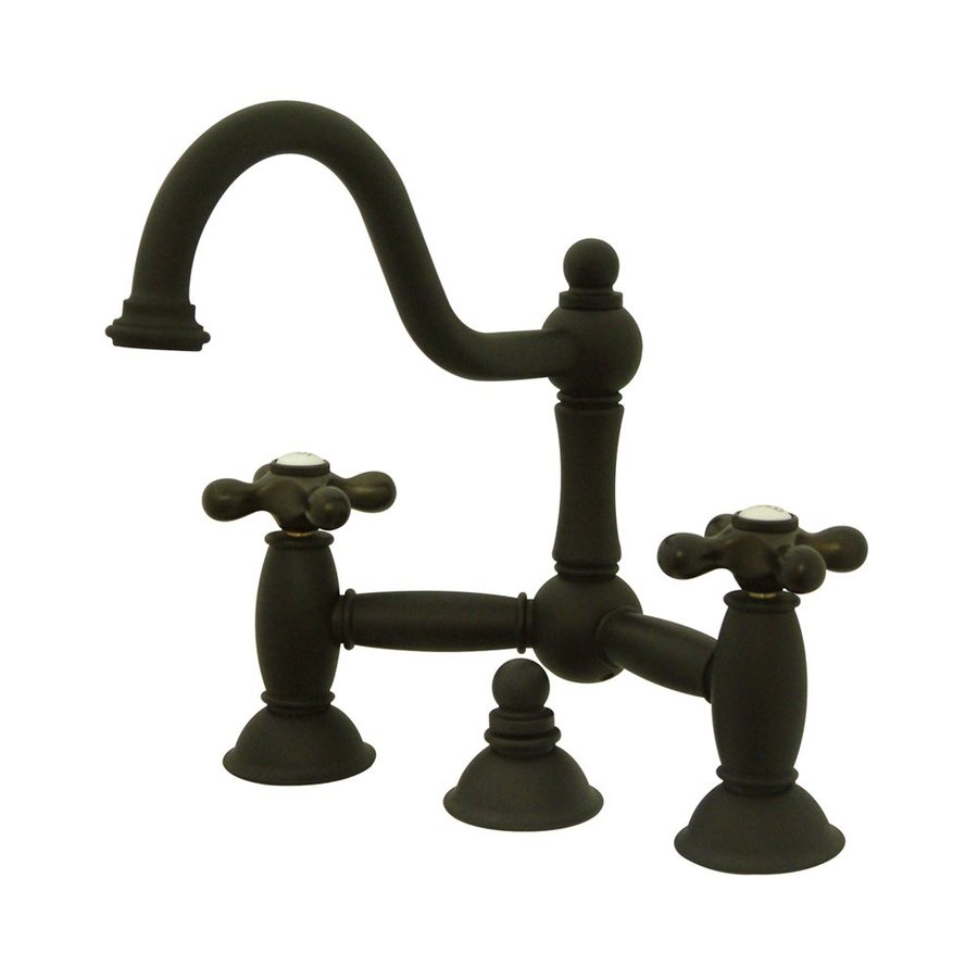 Elements of Design Chicago Oil-Rubbed Bronze 2-Handle Widespread Bathroom Faucet