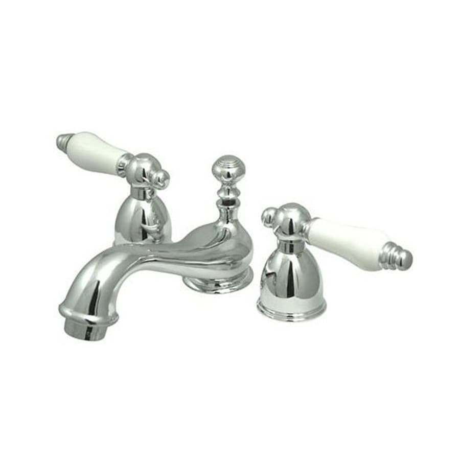 Elements of Design Chicago Chrome 2-Handle 4-in Mini Widespread Bathroom Faucet
