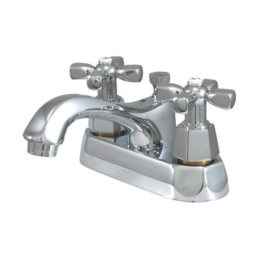 Elements of Design New York Chrome 2-Handle 4-in Centerset Bathroom Faucet