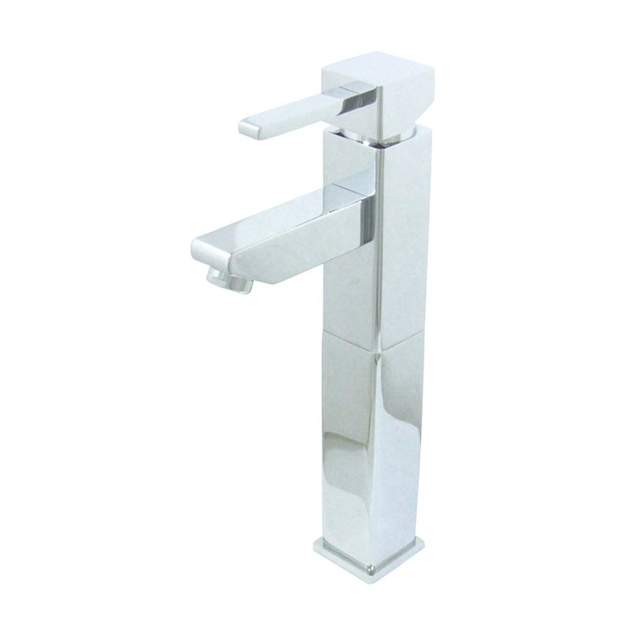 Elements of Design Claremont Chrome 1-Handle Single Hole Bathroom Faucet