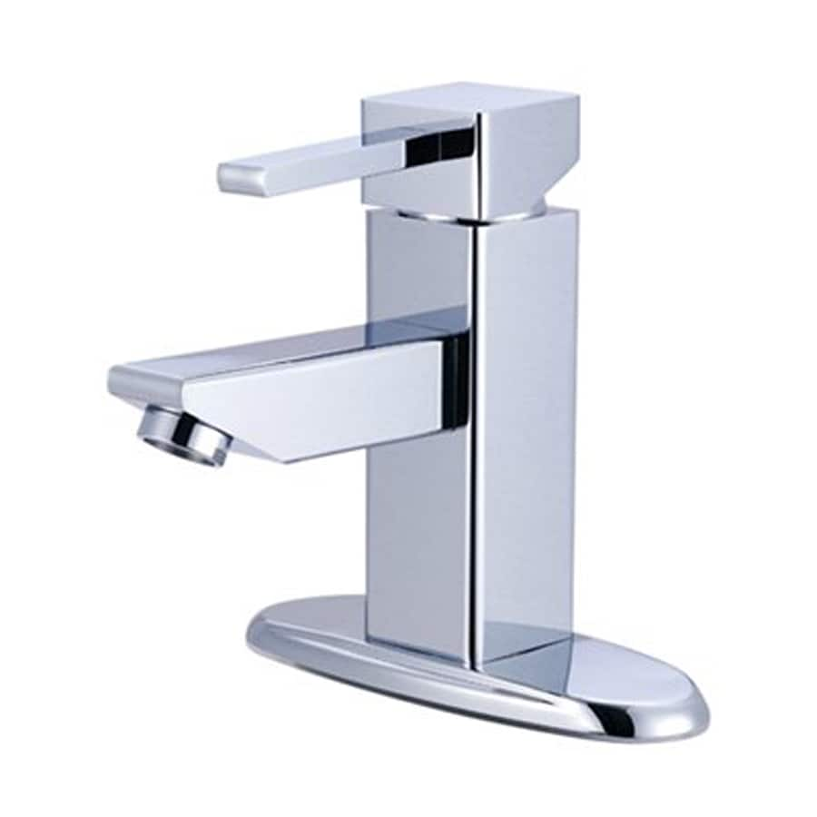 Elements of Design Claremont Chrome 1-Handle 4-in Centerset Bathroom Faucet