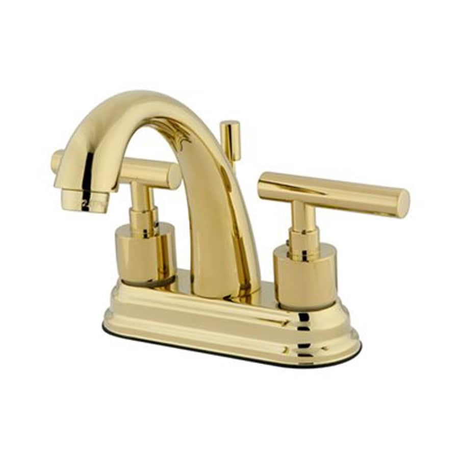 ... Handle 4-in Centerset Bathroom Faucet (Drain Included) at Lowes.com
