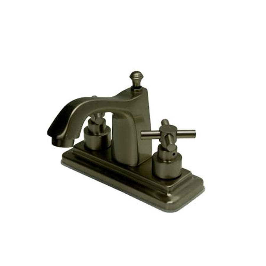 Elements of Design Tampa Oil-Rubbed Bronze 2-Handle 4-in Centerset Bathroom Faucet