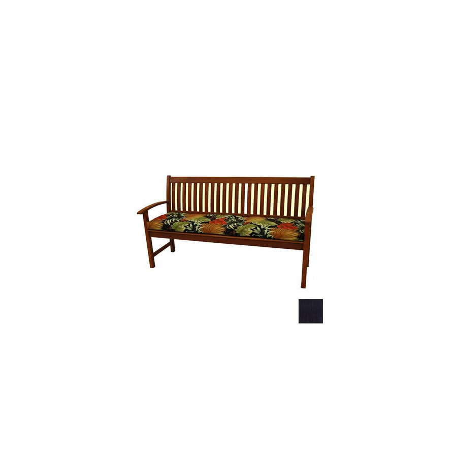 Blazing Needles Solid Cushion for Patio Bench