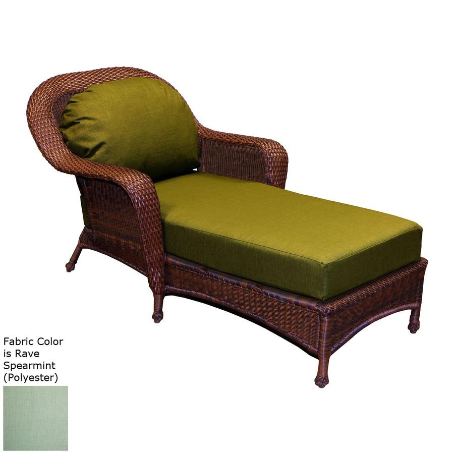 Tortuga Outdoor Lexington Java Wicker Chaise Lounge Chair