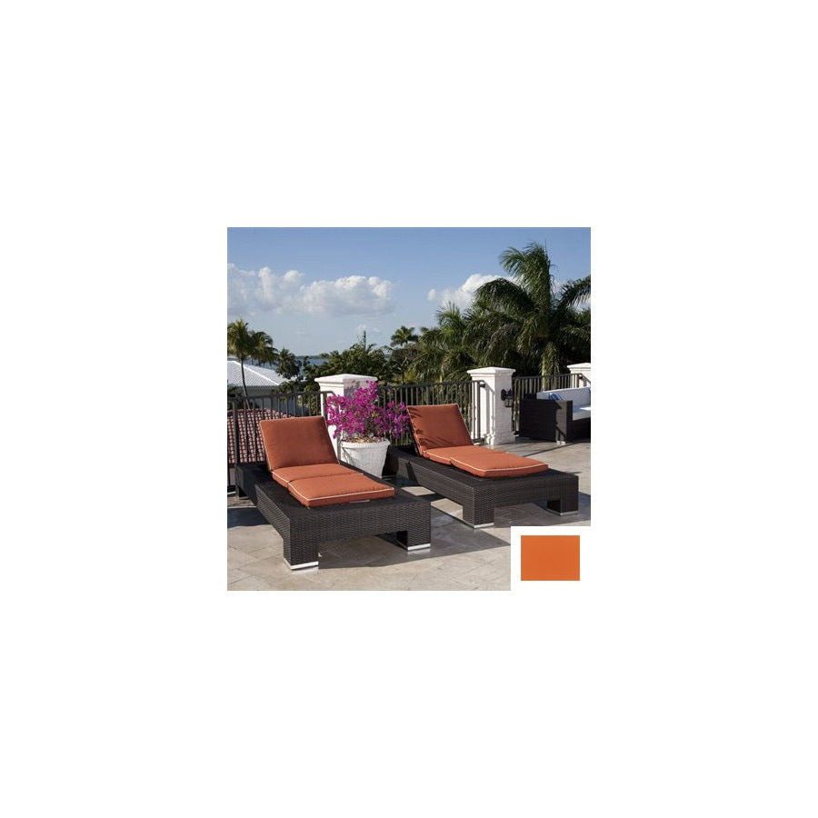 Source Outdoor Set of 2 King Cushioned Aluminum Patio Chaise Lounges
