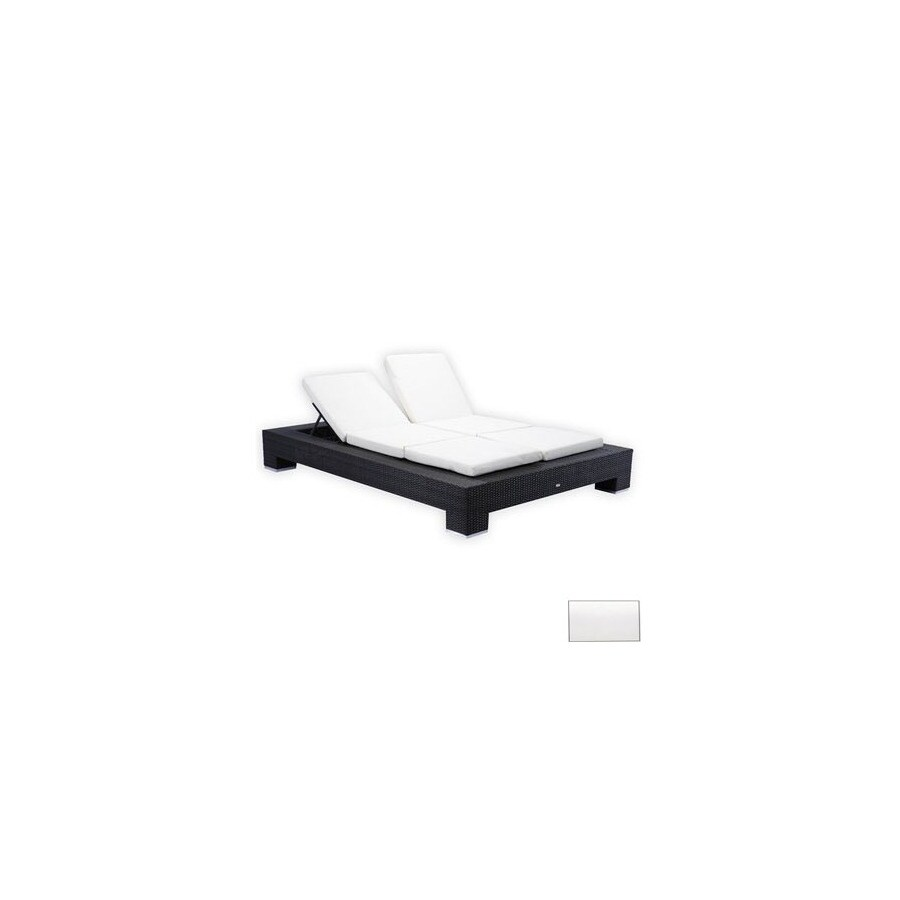 Source Outdoor King Cushioned Aluminum Patio Chaise Lounge