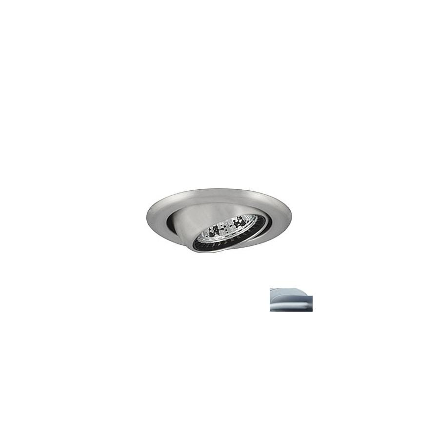 JESCO Satin Chrome Eyeball Recessed Light Trim (Fits Housing Diameter: 3-in)
