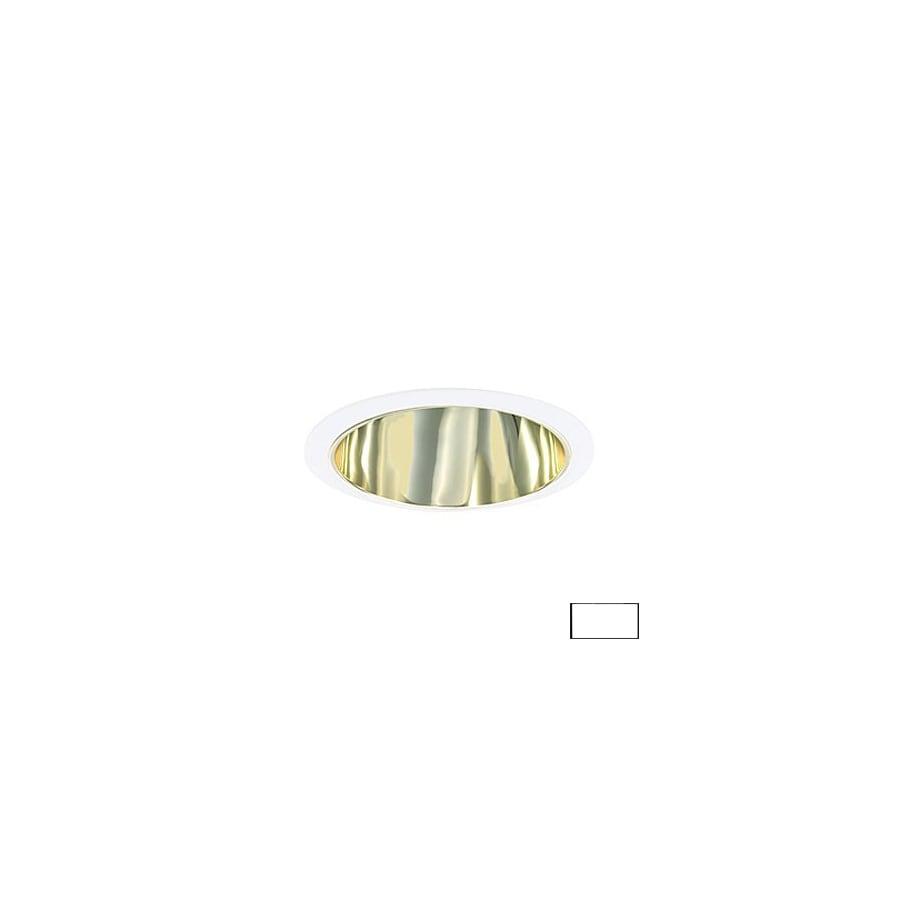 JESCO Polished Brass Open Recessed Light Trim (Fits Housing Diameter: 6-in)