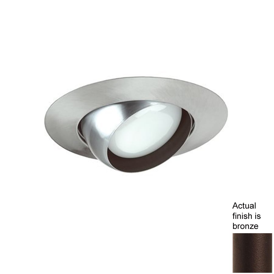 lighting bronze eyeball recessed light trim fits housing diameter 6. Black Bedroom Furniture Sets. Home Design Ideas
