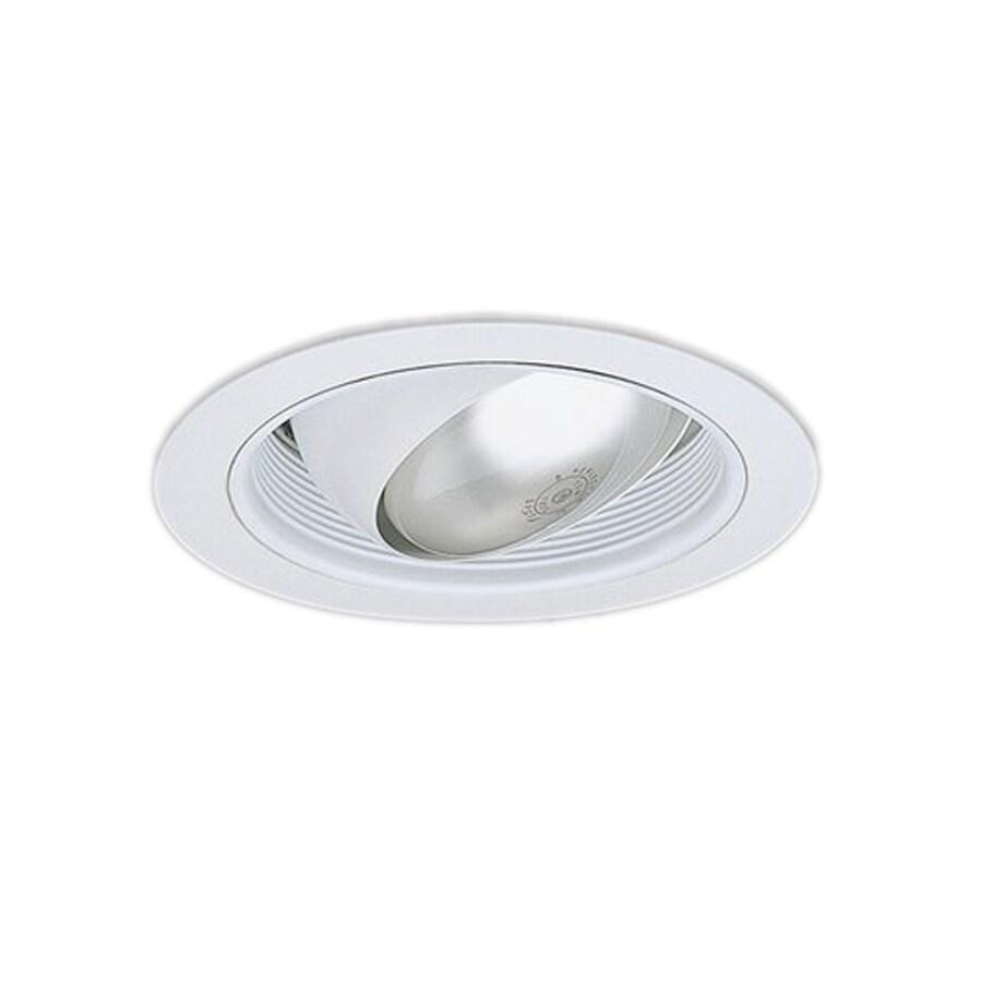 lighting white eyeball recessed light trim fits housing diameter 6. Black Bedroom Furniture Sets. Home Design Ideas