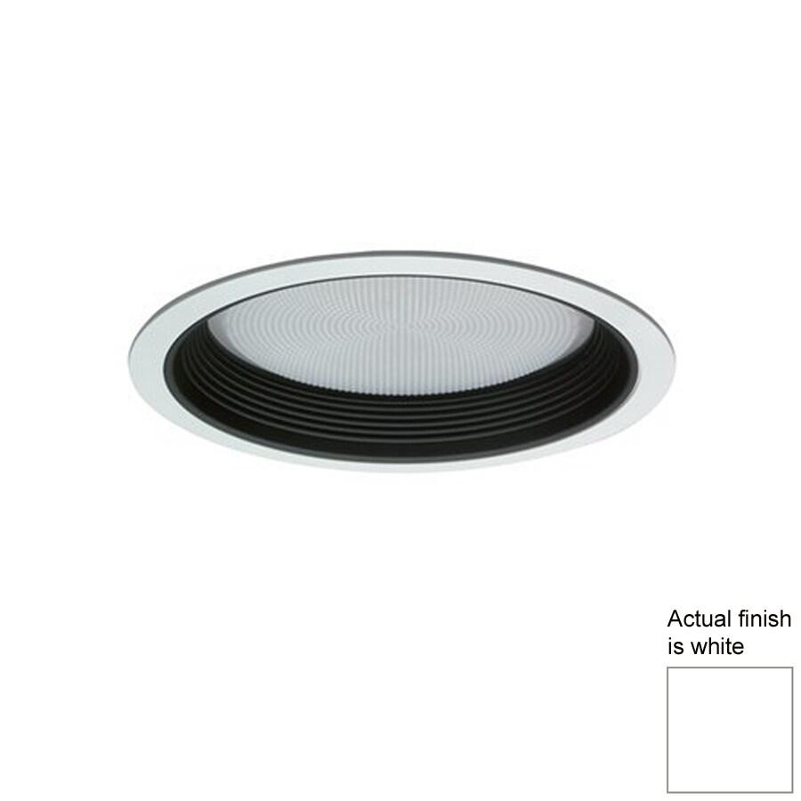 Nicor Lighting White Baffle Recessed Light Trim (Fits Housing Diameter: 8-in)