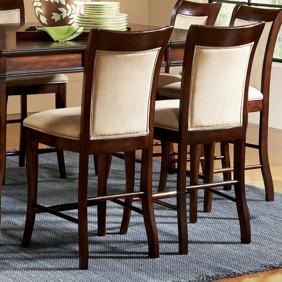 Steve Silver Company Set of 2 Marseille Merlot Cherry Side Chairs