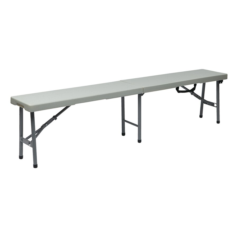 Office Star Worksmart Powder Coated Indoor Bench