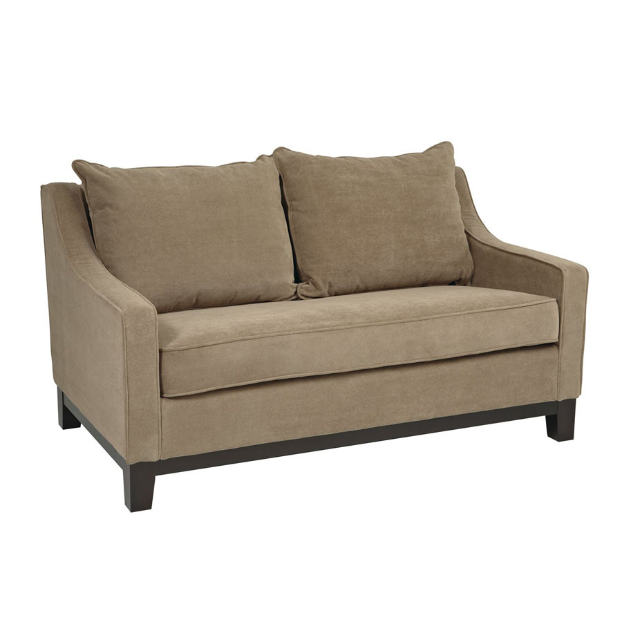 Office Star Avenue Six Espresso Stationary Loveseat