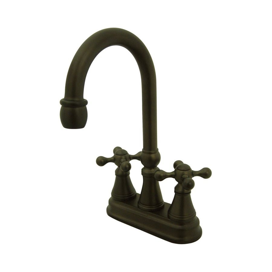 Elements of Design Oil-Rubbed Bronze 2-Metal Handle Bar and Prep Faucet