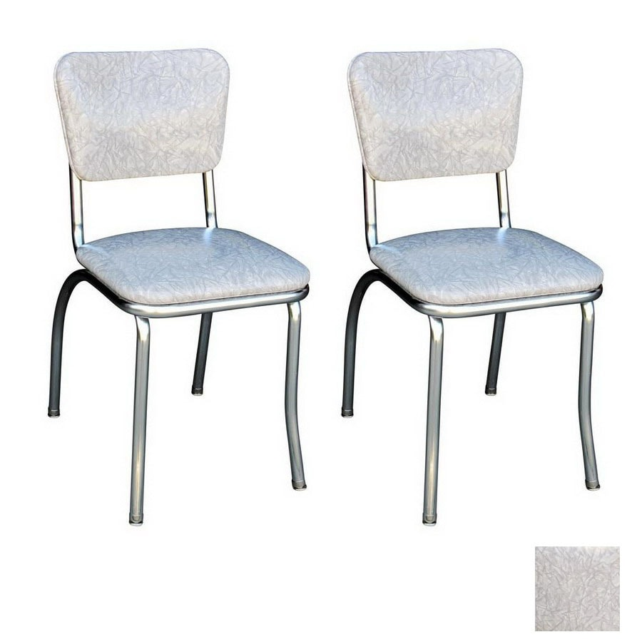 Richardson Seating 50's Retro Chrome Stackable Dining Chair
