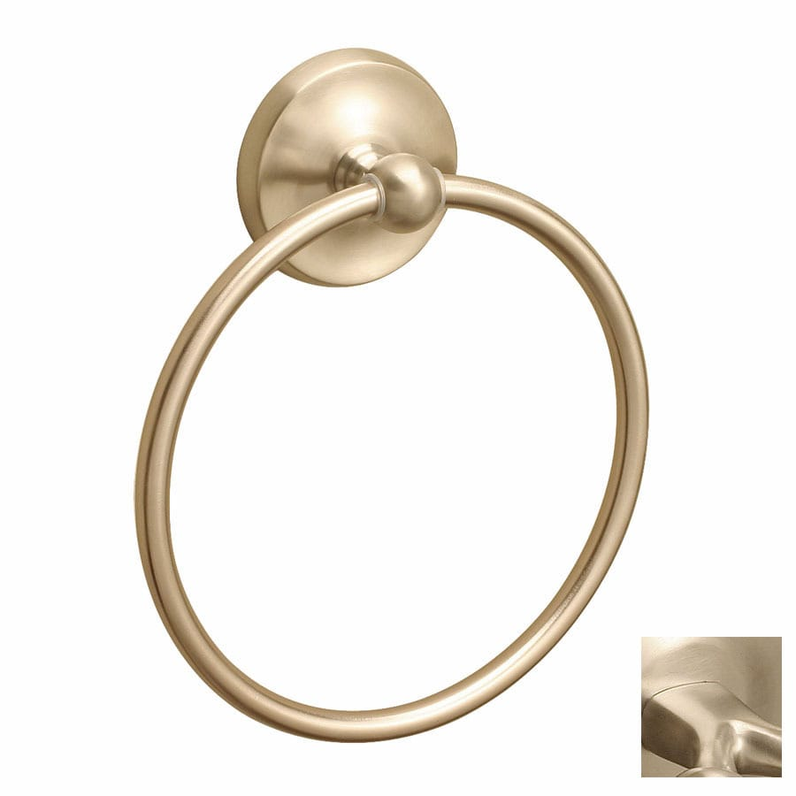 Premier Faucet Bayview PVD Brushed Nickel Wall-Mount Towel Ring