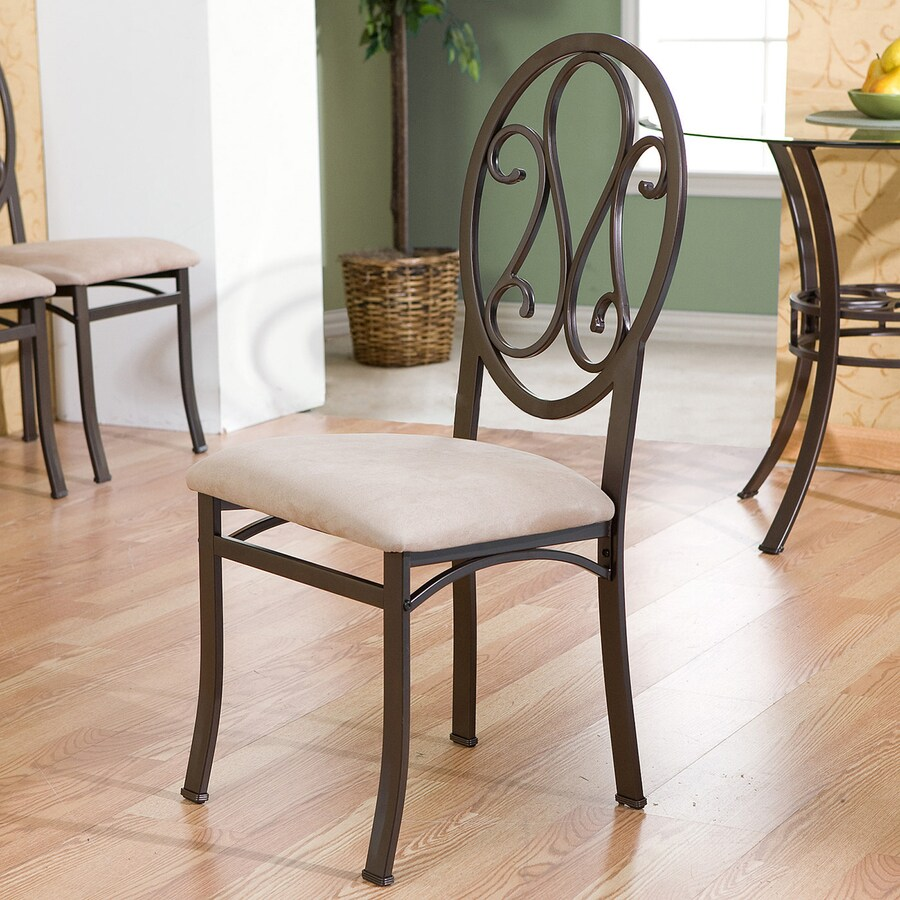 Boston Loft Furnishings Set of 4 Lucianna Dark Brown Side Chair