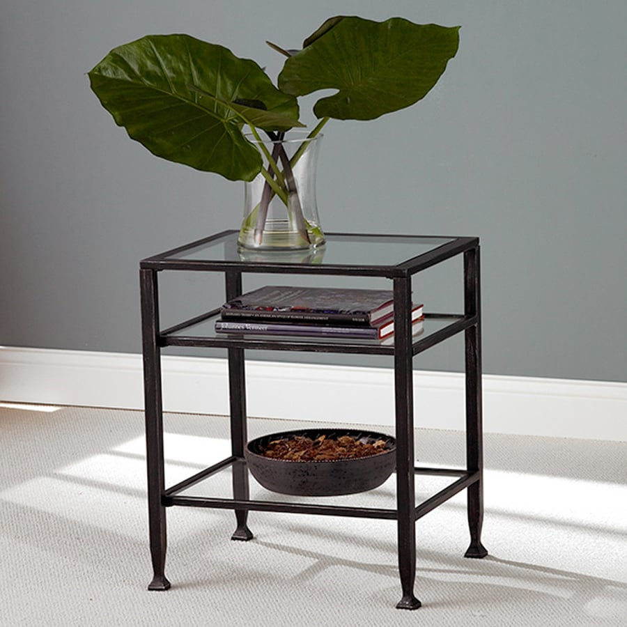 Boston Loft Furnishings Dunbar Industrial Style Kitchen: Shop Boston Loft Furnishings Black Rectangular End Table