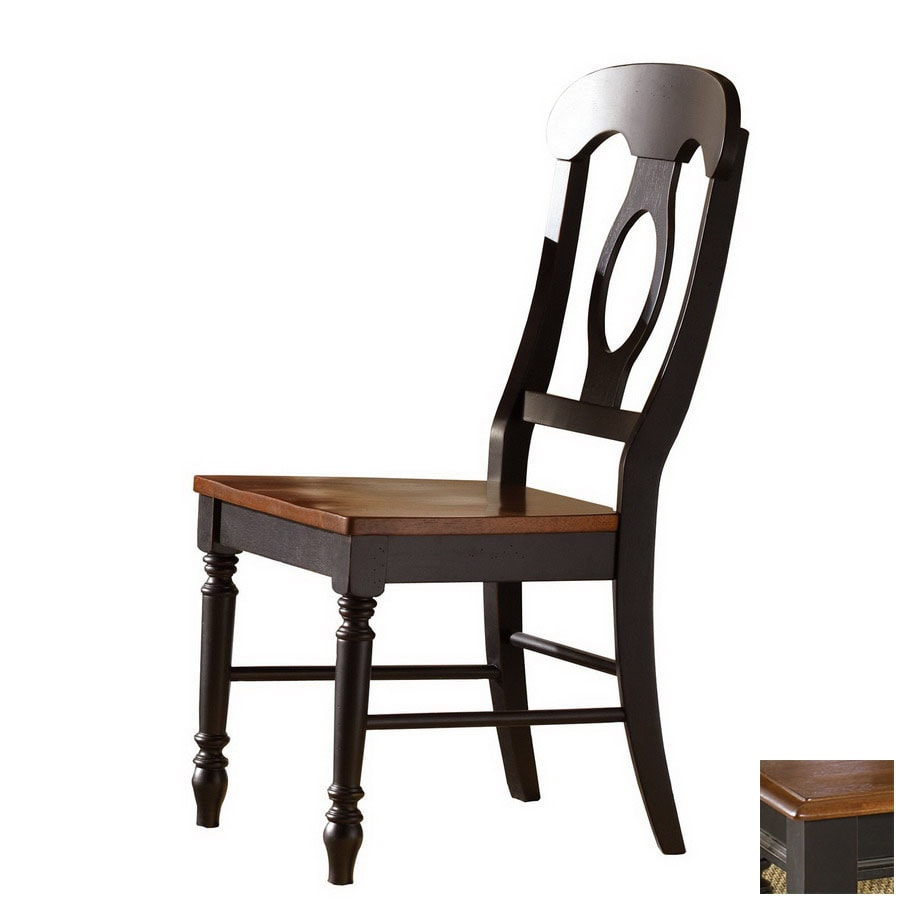 Liberty Furniture Low Country Anchor Black Side Chair
