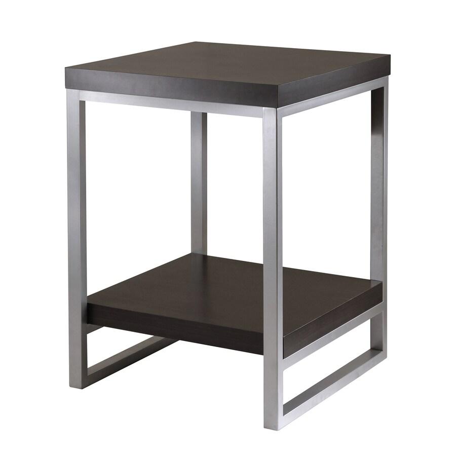 Winsome Wood Jared Dark Espresso Square End Table