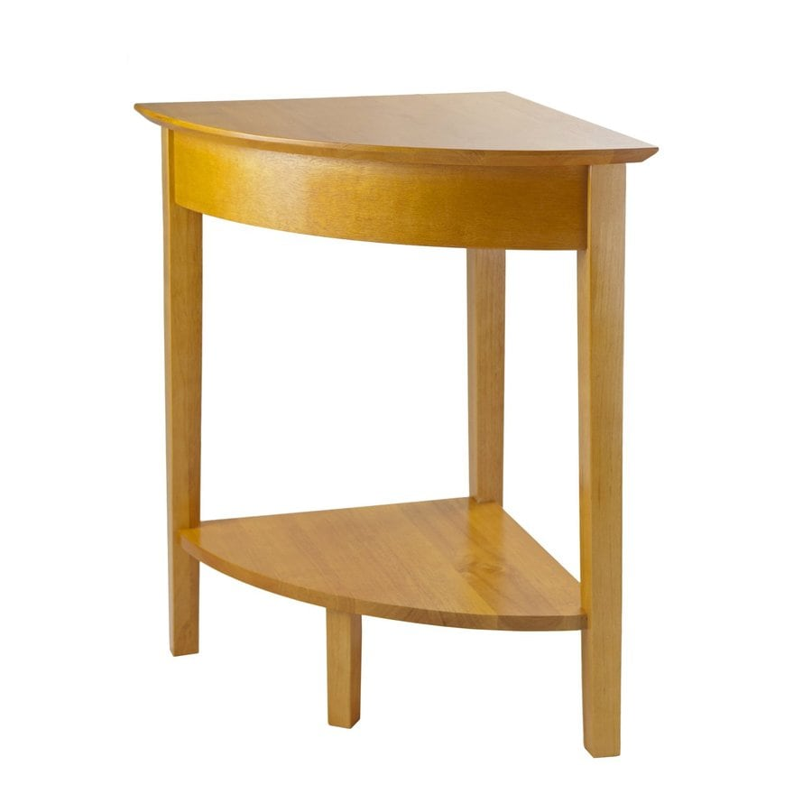 Shop Winsome Wood Studio Honey Corner End Table At
