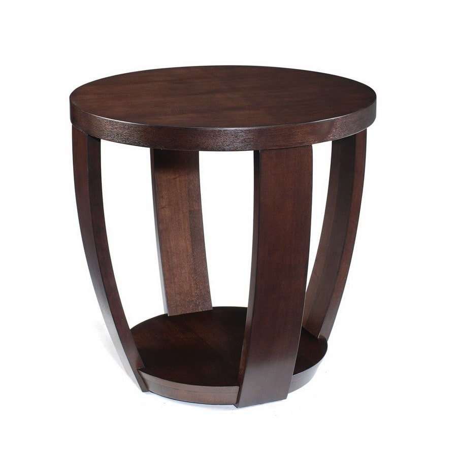 Magnussen Home Sotto Sienna Sapele Round End Table