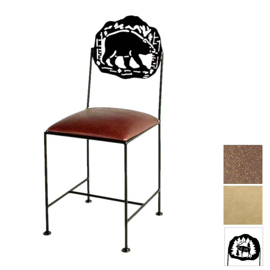 Grace Collection Silhouette Burnished Copper Dining Chair