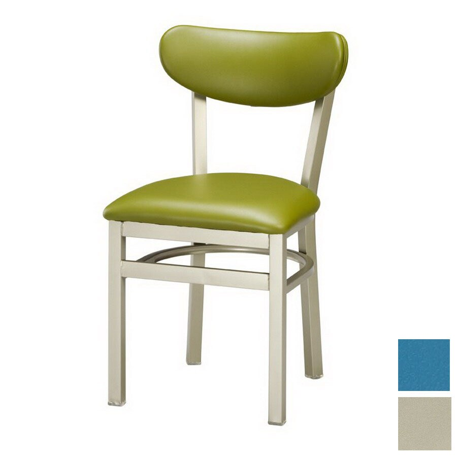 Regal Seating Set of 2 Anodized Nickel Side Chairs