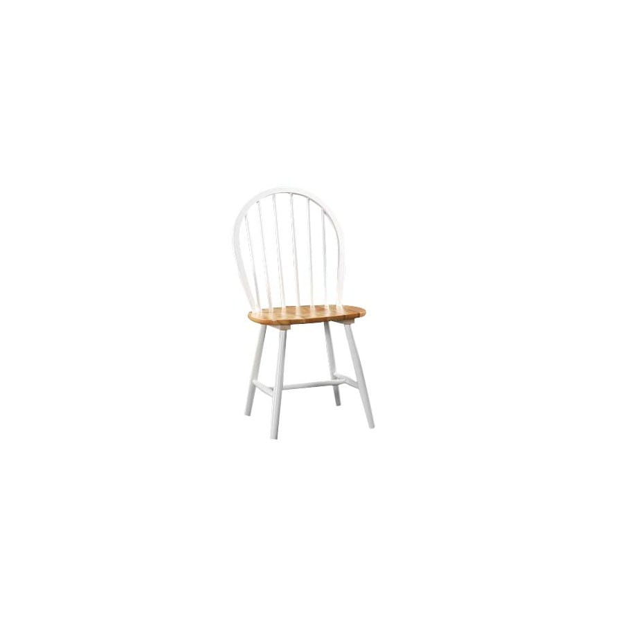 Boraam Industries Set of 2 Farmhouse White Side Chairs