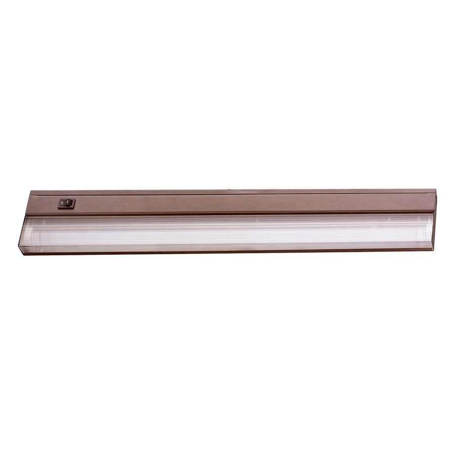 lighting 21 in hardwired under cabinet fluorescent light bar at lowes. Black Bedroom Furniture Sets. Home Design Ideas