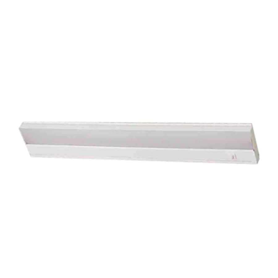 Volume International 21.25-in Hardwired Under Cabinet Fluorescent Light Bar