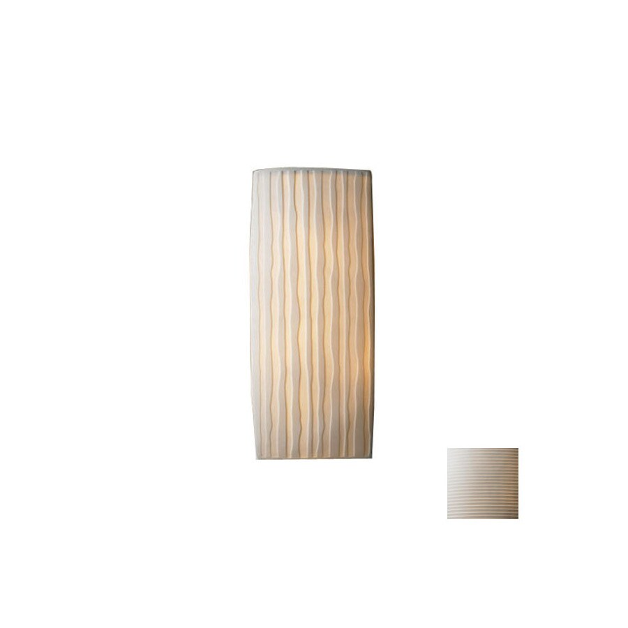 Cascadia Lighting Limoges 5.5-in W 1-Light Pocket Hardwired Wall Sconce