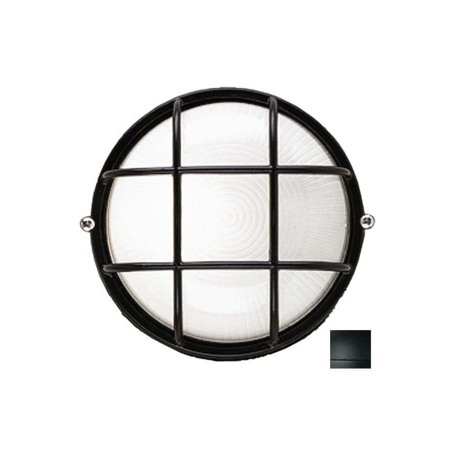 Philips Forecast Oceanview 10-in H Black Outdoor Wall Light