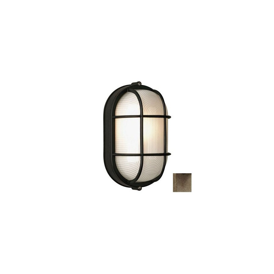 Philips Forecast Oceanview 11-in H Silver Rust Outdoor Wall Light