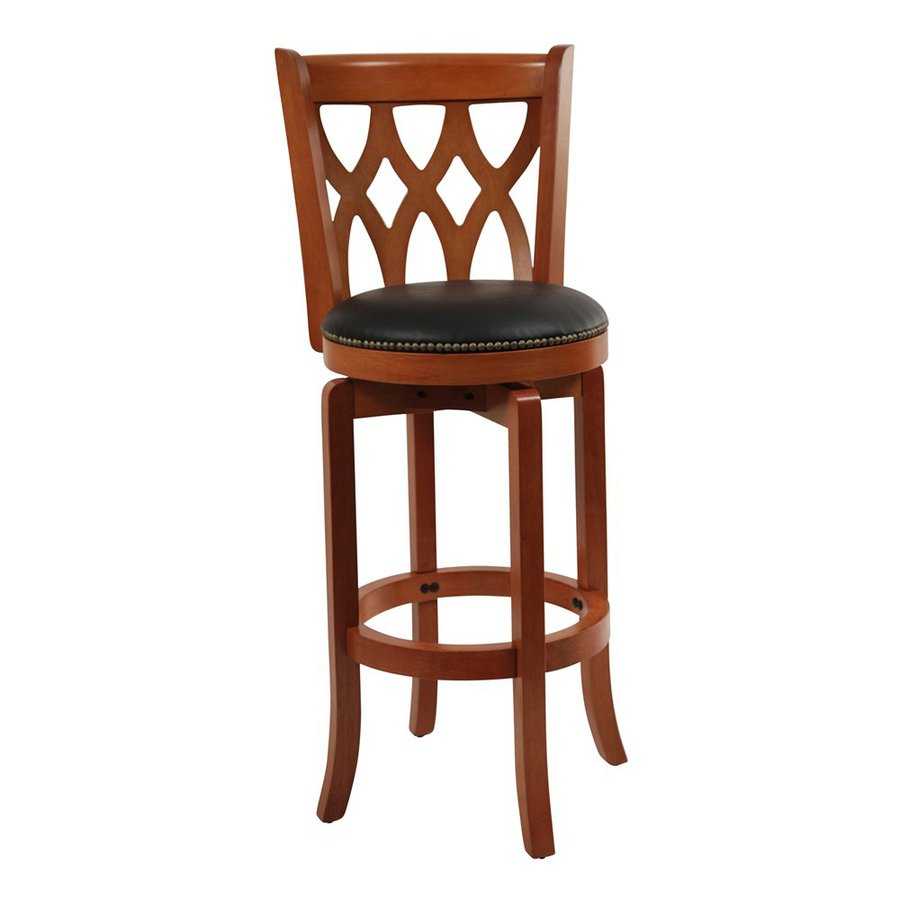 Boraam Industries Cathedral Cherry 29-in Bar Stool