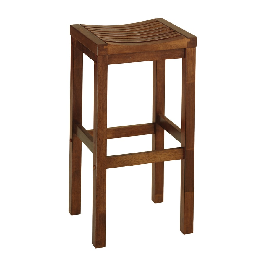 Shop Home Styles Cottage Oak 29 In Bar Stool At