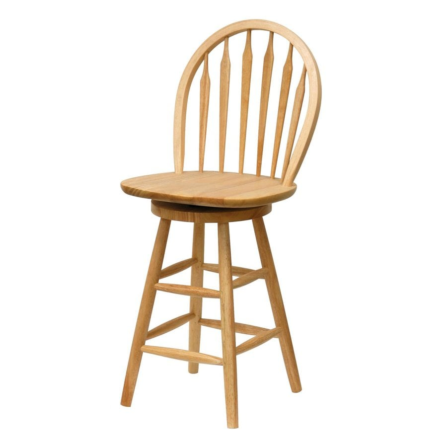 Shop Winsome Wood Natural 24 In Counter Stool At