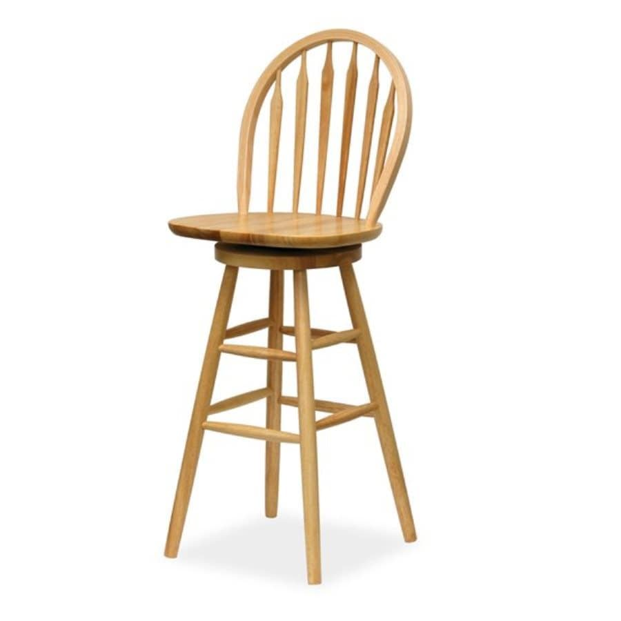 Shop Winsome Wood Natural 30 In Bar Stool At Lowes Com